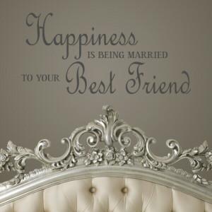 Best friend quote wall sticker