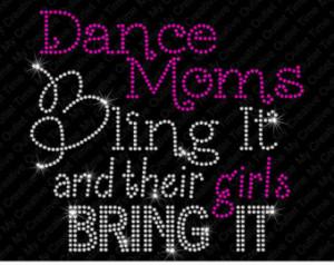 Popular items for dance moms