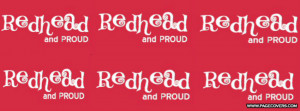 Redhead And Proud Cover Comments