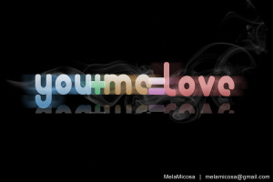 you plus me equals love by melamicosa