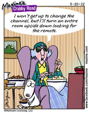 Maxine Crabby Road Cartoons http://friedababbley.blogspot.com/