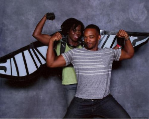 cosplay best day ever he is so cute Falcon NEVER EVER anthony mackie ...