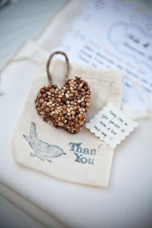 Directions for Bird Seed Favor Recipe: http://www.polkadotbride.com ...