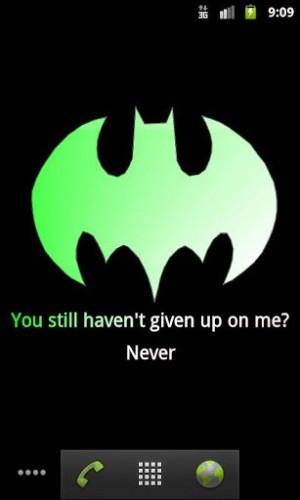 Batman Sayings Ads by google