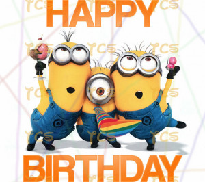 Minions Saying Happy Birthday