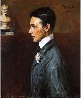 Portrait of Van Wyck Brooks, Oil on canvas