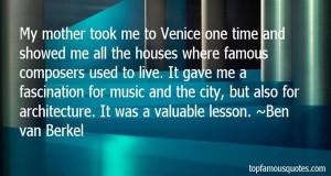 Favorite Ben Van Berkel Quotes