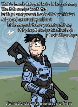 One of my favorite Red Vs. Blue quotes brought to illustration by Luke ...