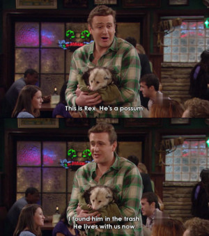 Marshall is the best part of How I Met Your Mother. I love him.