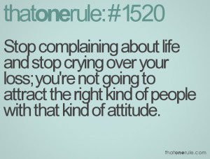 quotes about negative people complain