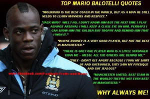 bashes top mario balotelli quotes troll football hype troll football ...