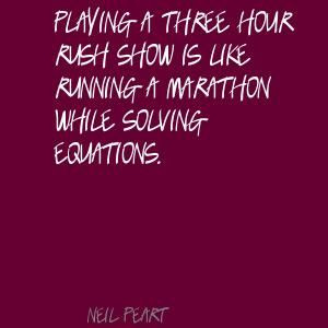 Quotes from Neil Peart