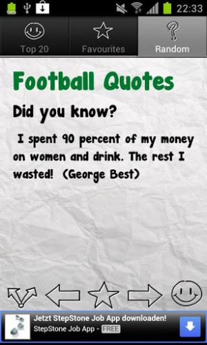Football Quotes Deluxe