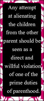 This quote should be in every court order involving children and be on ...