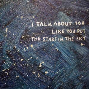 Stars in the sky.