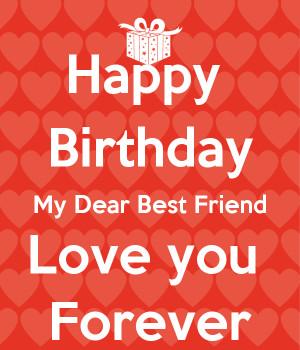 happy birthday to you my dear friend wish you happy birthday to my