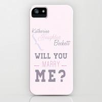 Castle (TV Show) Quotes | Richard Castle iPhone & iPod Case by Sandi ...