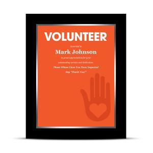 Volunteer Industry Award Plaque (760145)