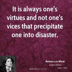 Rebecca West Quotes