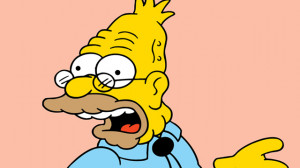 Abraham Simpson Simpsons Photo: grampa simpson