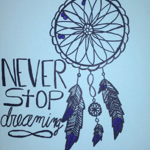 Dream Catcher - Dream - With Space Printed Frame and