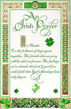 irish wedding prayers and blessings framed | call sayings irish you ...