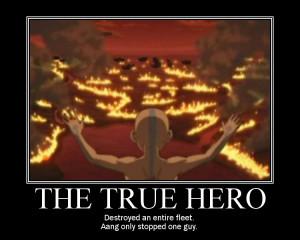 True Hero True hero motivator by