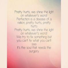 Pretty hurts - Beyoncé