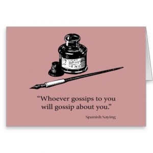 spanish_saying_gossip_quote_quotes_card ...