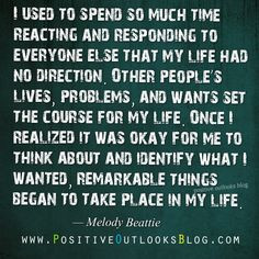 Remarkable Things : Quotes Melody Beattie (Codependent No More) More