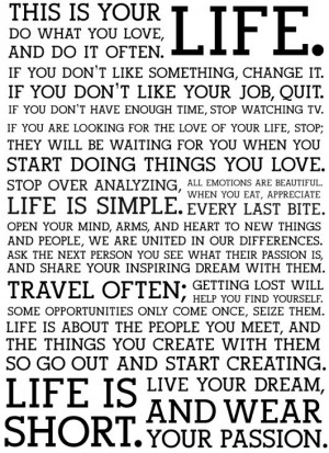 Quotes} Beautiful and inspiring words to live by...