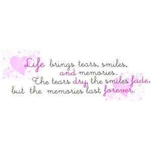 Memories quotes image by samhuffxoxo on Photobucket