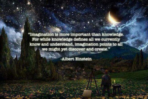Einstein quotes. Imagination