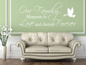 Cherish Family Quotes