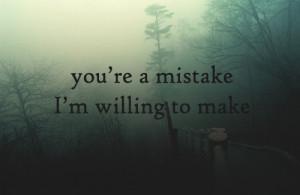 heart broken, mistake, sad, text, typography