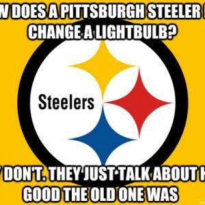 Hate Pittsburgh Steelers Jokes