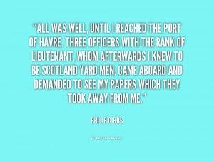 Philip Gibbs Quotes