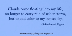 Famous Quotes By Rabindranath Tagore