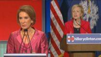 Carly Fiorina vs. Hillary Clinton