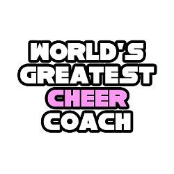 greatest_cheer_coach_rectangle_magnet.jpg?height=250&width=250 ...