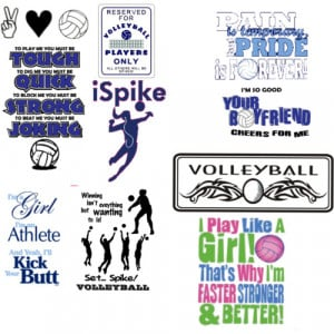 volleyball sayings funny