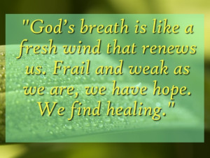 He heals the brokenhearted and binds up their wounds. He determines ...