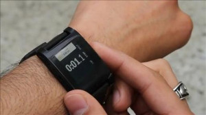 ... kinks to work out, Walt Mossberg discusses on digits. Photo: Pebble