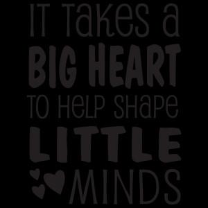 It takes a bug heart to help shape little minds.