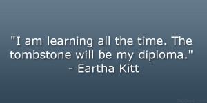 Eartha Kitt Quote