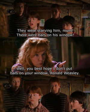 ... quotes | ron weasley fred weasley george weasley harry potter molly