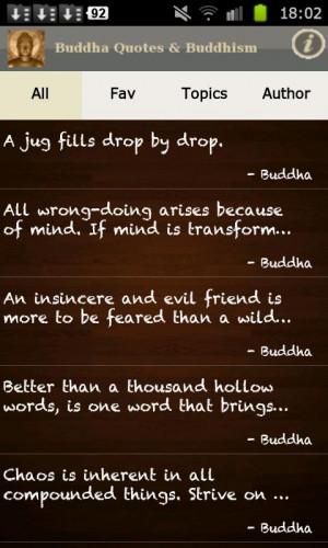 Buddha Quotes & Buddhism Free! - screenshot