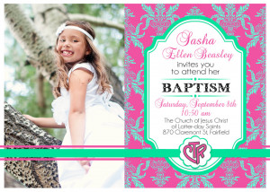Lds Quotes On Baptism Custom lds baptismal