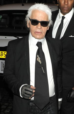 Straight From The Bosses Mouth: Karl Lagerfeld Says He's Never ...