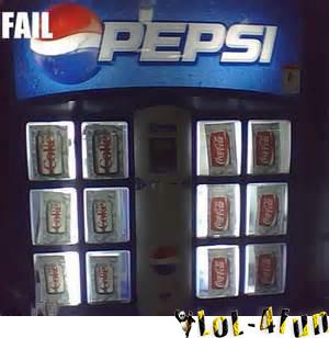 So, where can i find Pepsi? In the Coca-cola's fridge dude ^^